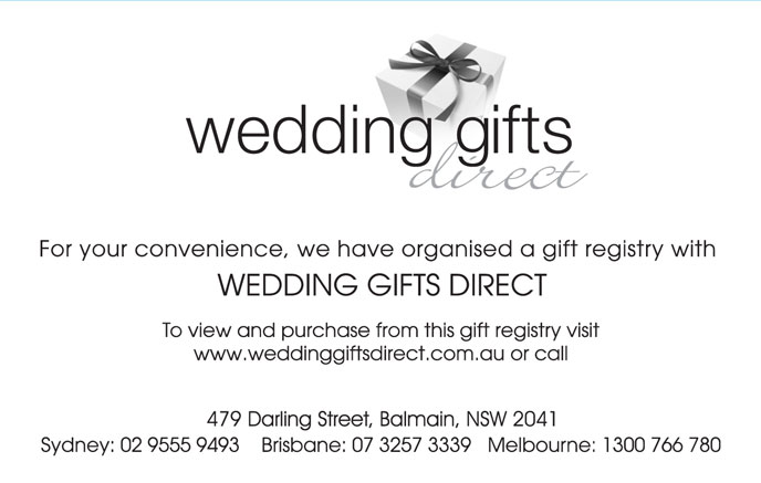 Wedding gift registry are you having one just as planned for When do you register for wedding gifts