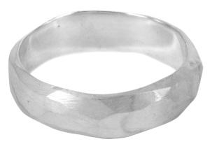 VAD002, dat van, pirate wedding ring in sterling silver