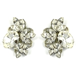 Paula Hall Designs Crystal Floral Studs $89.95 RRP