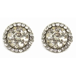 Paula Hall Designs Antique Crystal Stud $81.00 RRP