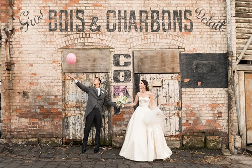 Weddings by Bursaria Bois & Charbons