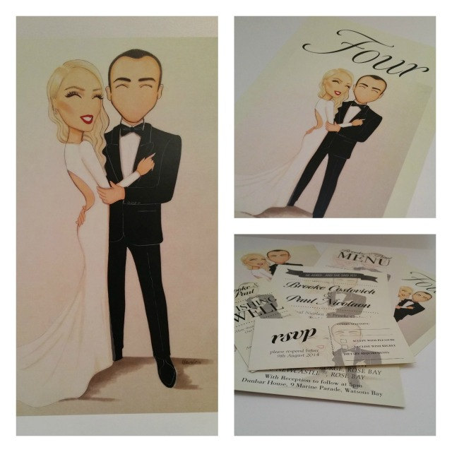 Wedding stationery designed by Just as Planned www.justasplanned.com.au