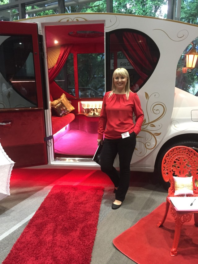 Inside the Cinderella Limo
