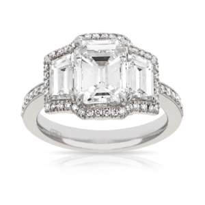 Hardy Brothers - Platinum Engagement Ring Image from Hardy Brothers website