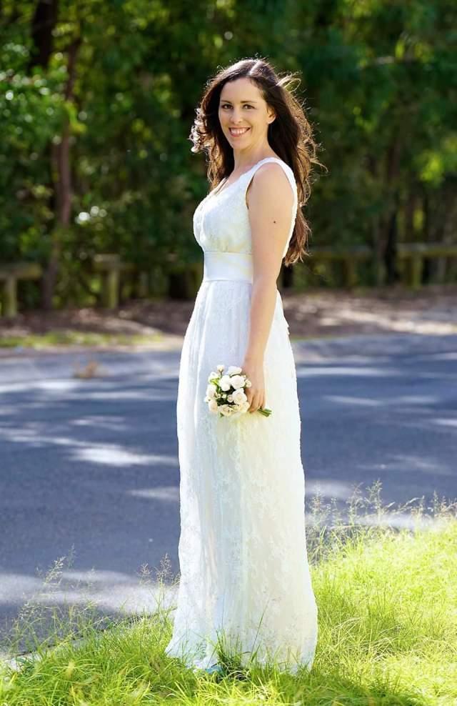 Wedding dress by Blue Jade