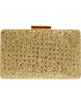 Gregory Ladner Lucy Glitter Clutch from David Jones
