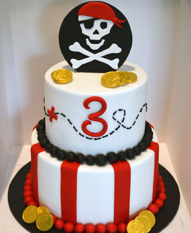 Rubys Cakes - pirate