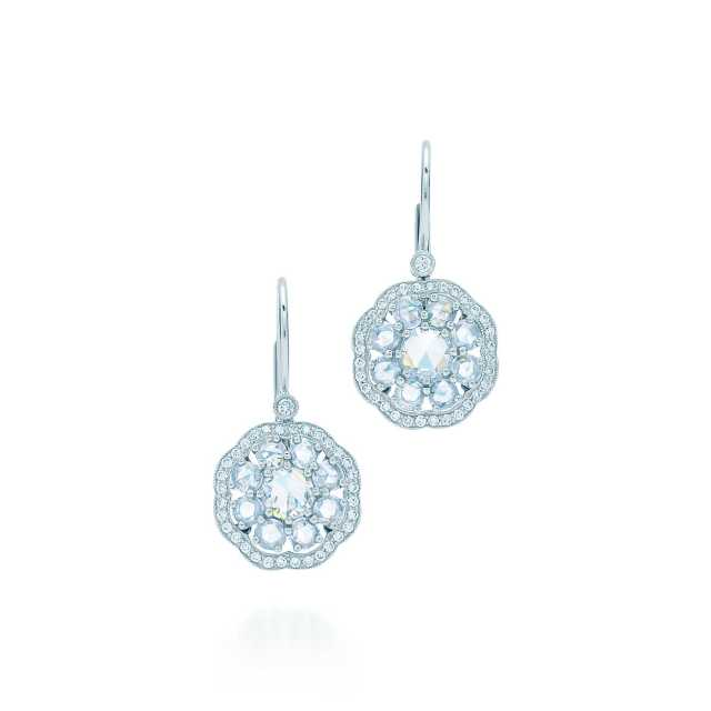 Tiffany and Co Fleur Earrings